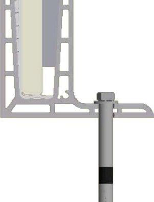 q railing sistema de barandillas easy glass pro top mount. Black Bedroom Furniture Sets. Home Design Ideas